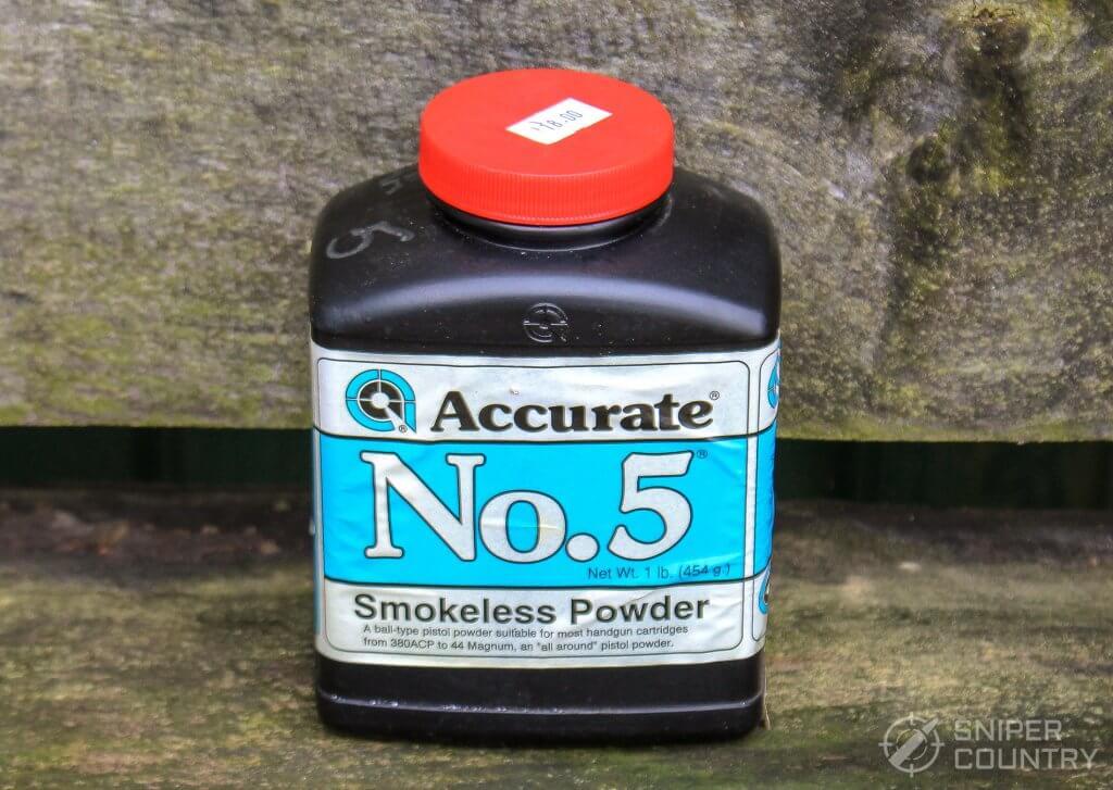 AA5 smokeless powder