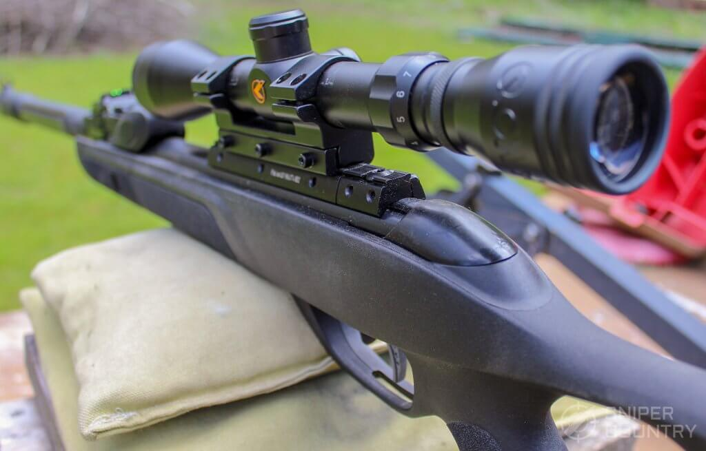 GAMO Swarm Fusion 10X GEN2 on rest