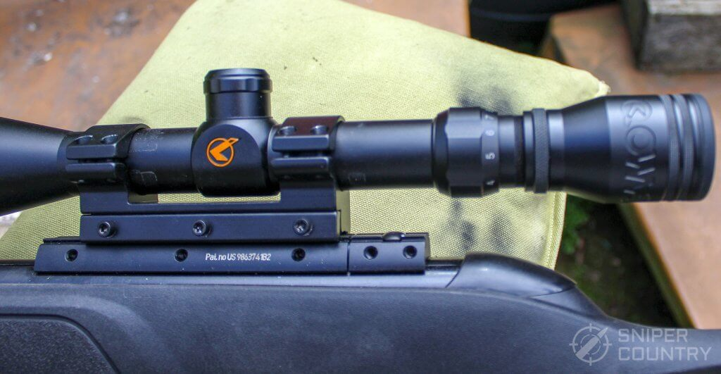 GAMO Swarm Fusion 10X GEN2 scope and mount