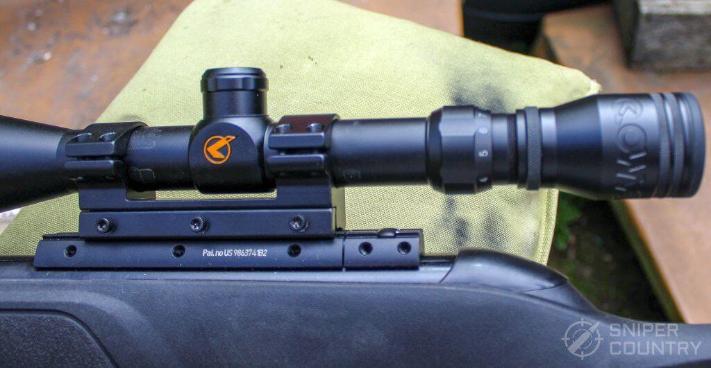 GAMO Swarm Fusion 10X GEN2 scope and mount