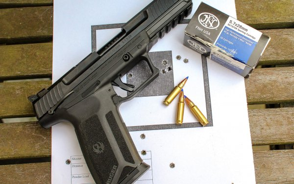 [Review] Ruger-57: Handgun-Sized AR?