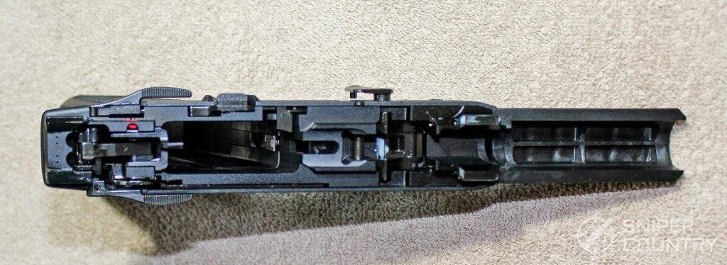 Ruger-57 frame inside