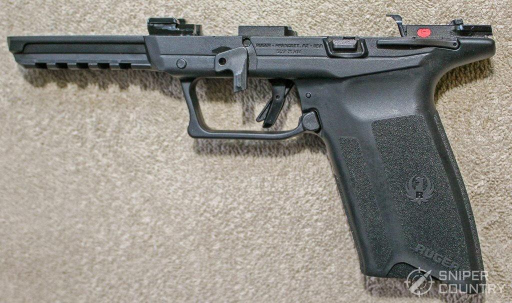 Ruger-57 frame left