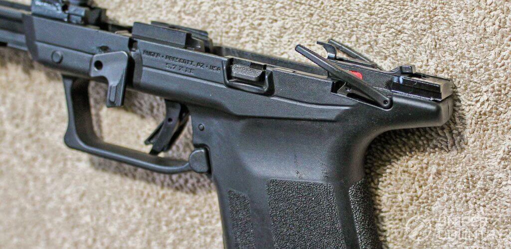 Ruger-57 frame safeties