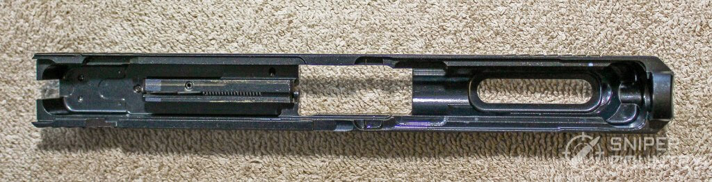 Ruger-57 slide underside