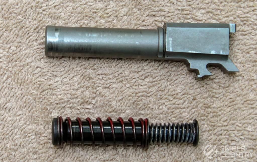 Taurus G3c barrel recoil spring