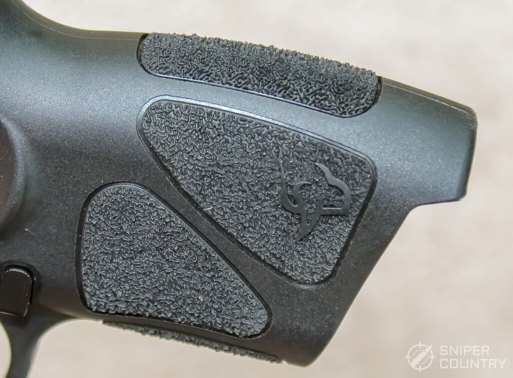 Taurus G3c grip texturing