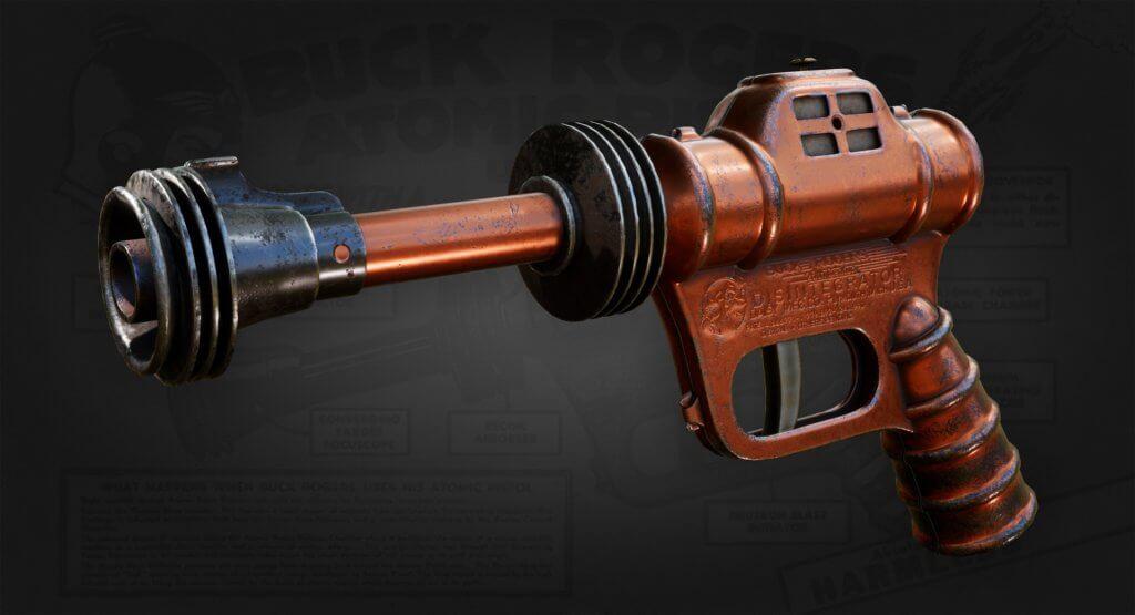 buck roger atomic ray gun