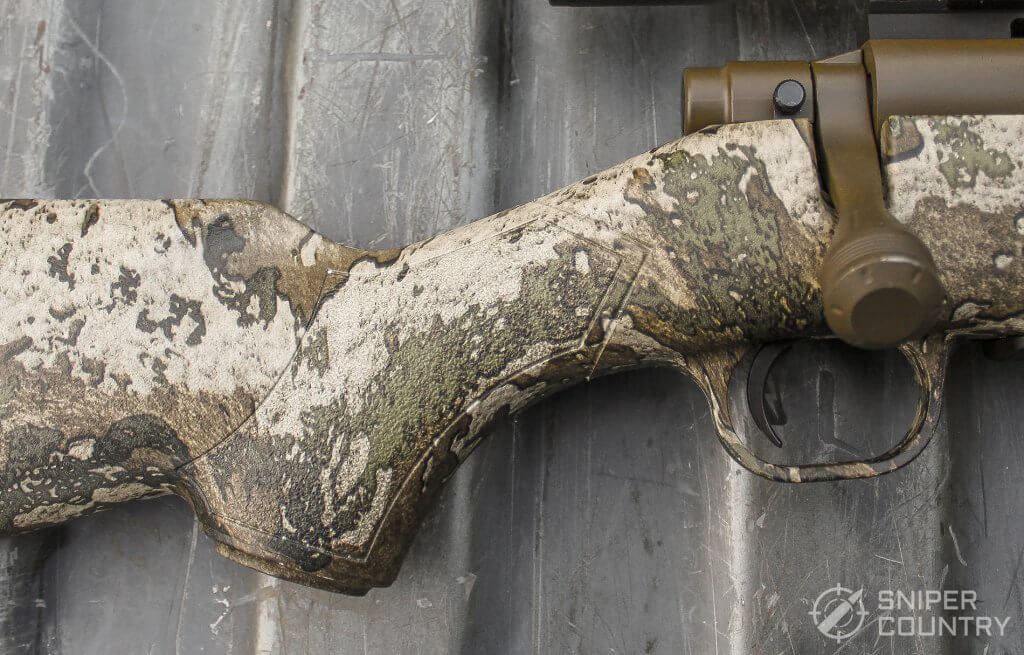 pistol grip of the mossberg predator