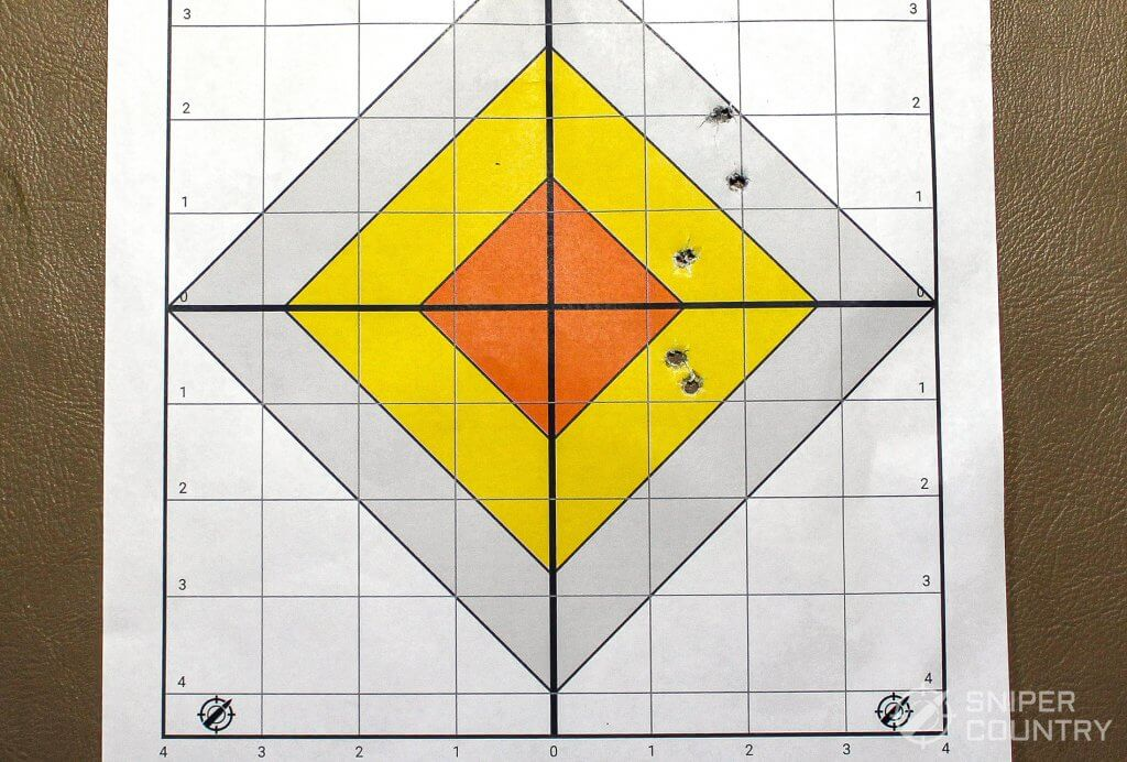 target federal shot with Taurus 942
