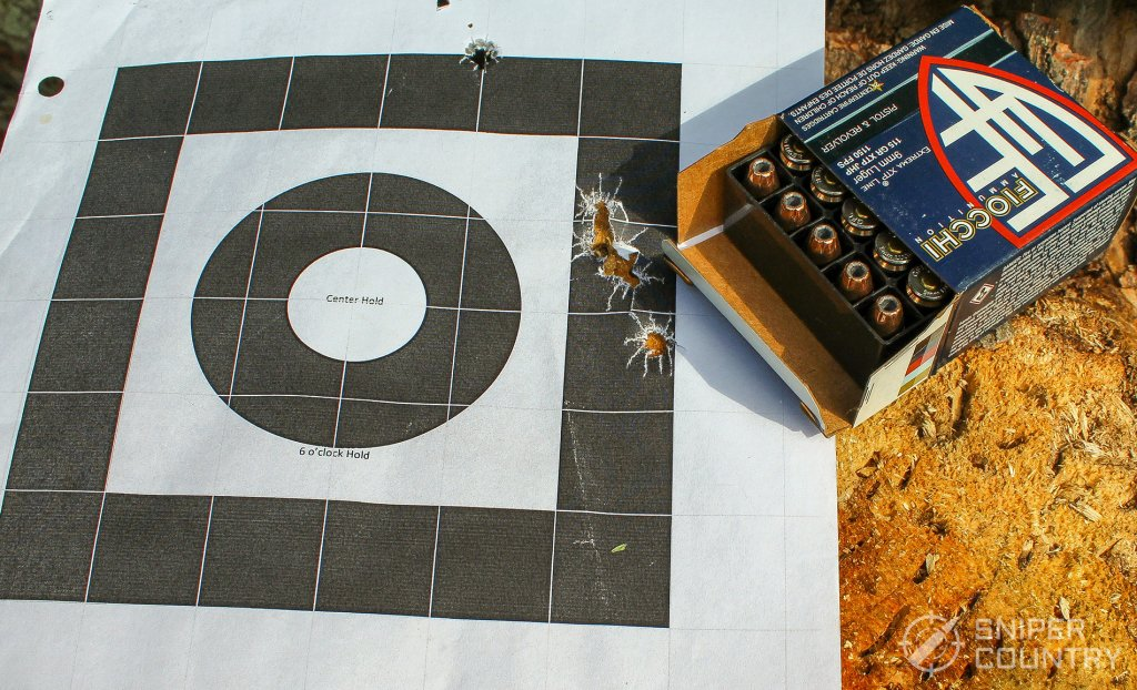 target with ammo