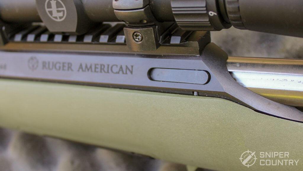 Ruger American Predator bolt release