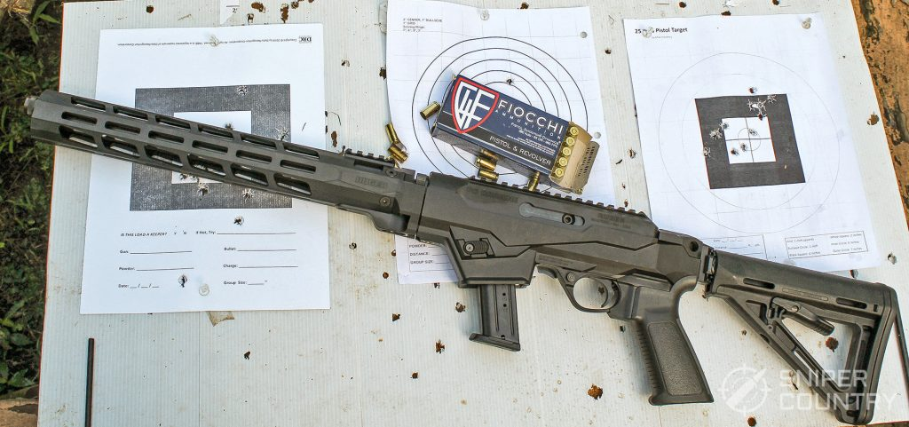 Ruger PC Carbine 9mm and ammo
