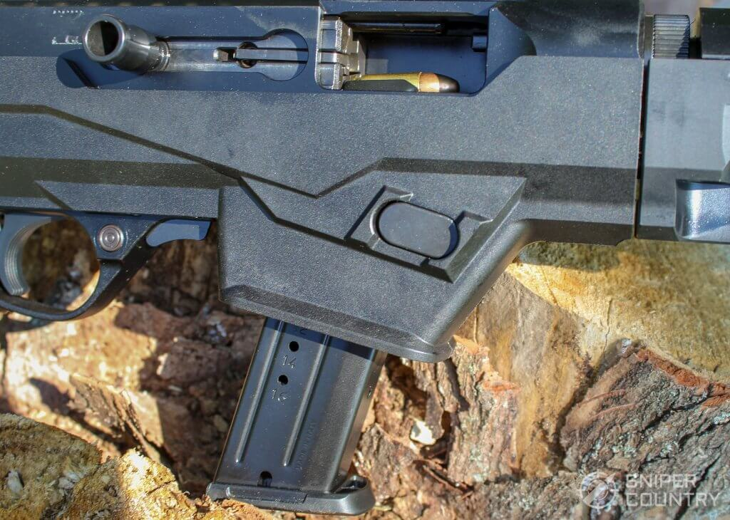 Ruger PC Carbine 9mm bolt open