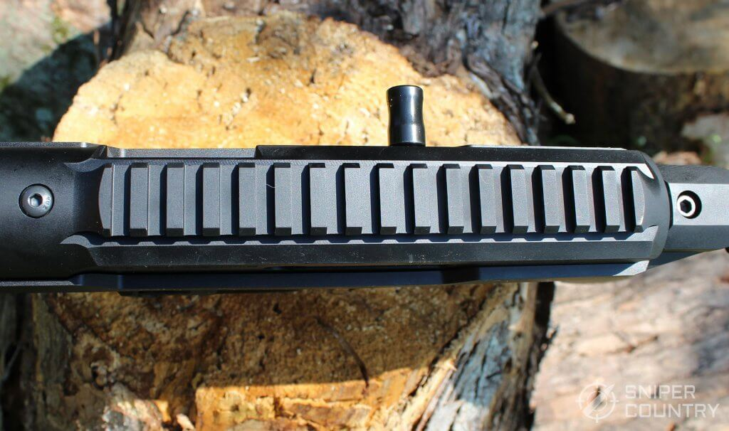 Ruger PC Carbine 9mm top-rail