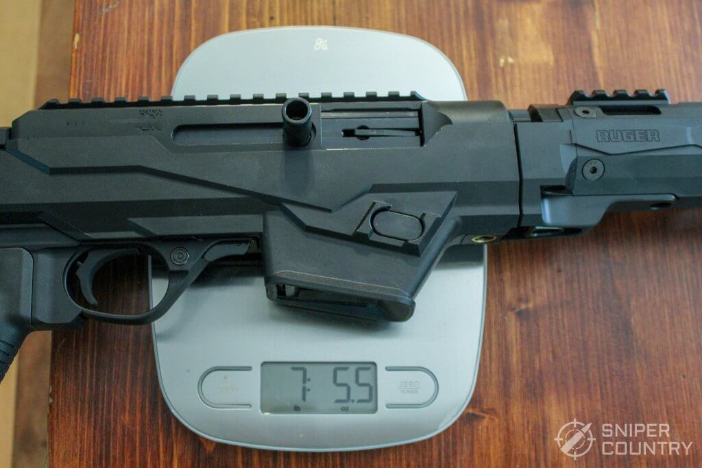 Ruger PC Carbine 9mm weight