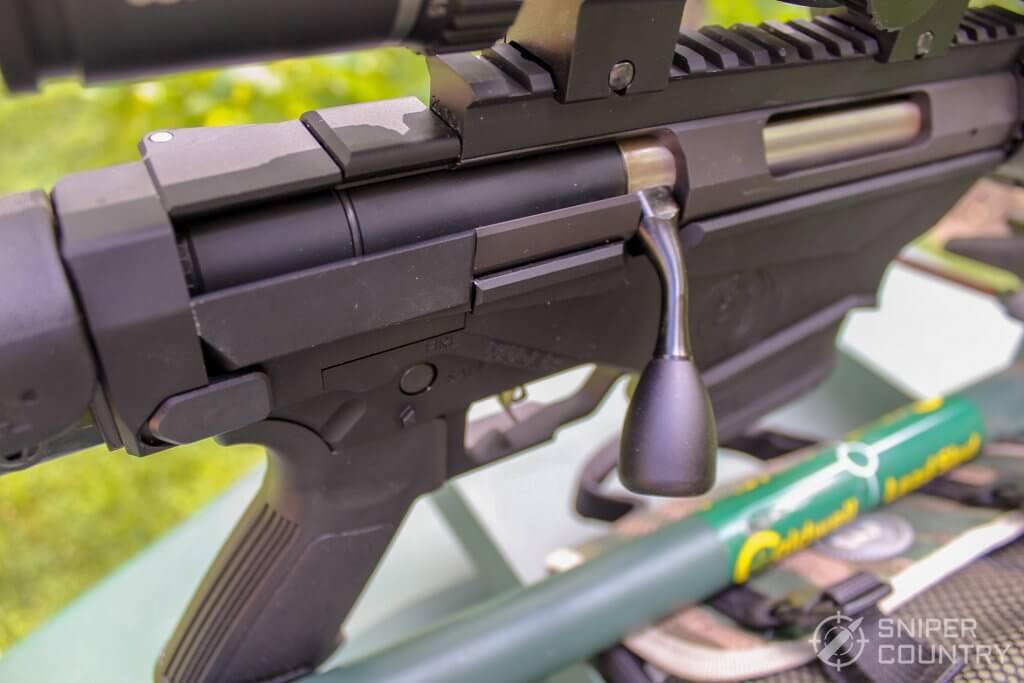 Ruger Precision Rifle bolt handle