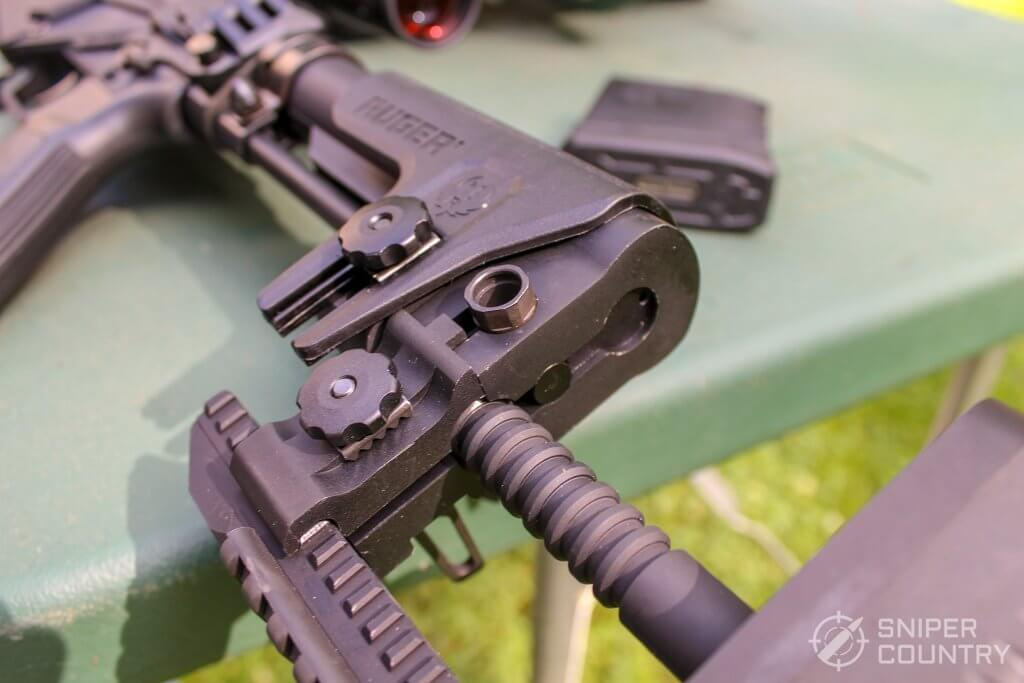 Ruger Precision Rifle buttstock adjustments