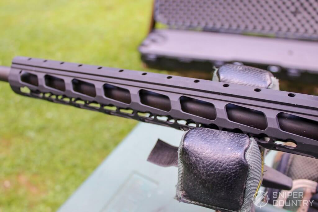Ruger Precision Rifle hand guard