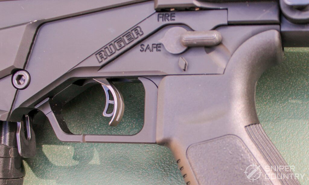 Ruger Precision Rifle safety