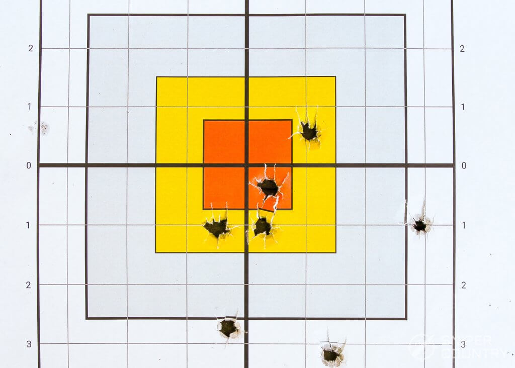 Glock 45 target winchester
