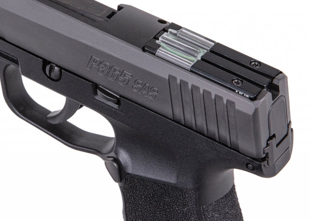 Sig Sauer P365 SAS rear sight
