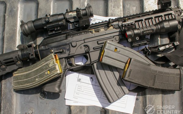 [Review] Sig Sauer P556: Yep, that's a pistol…