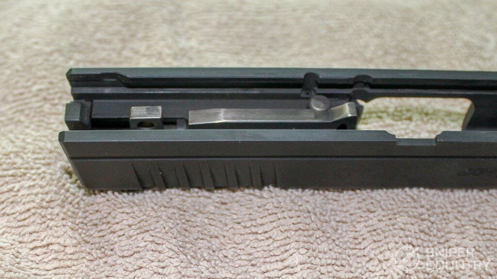 Springfield XDS 4.0 central feed ramp