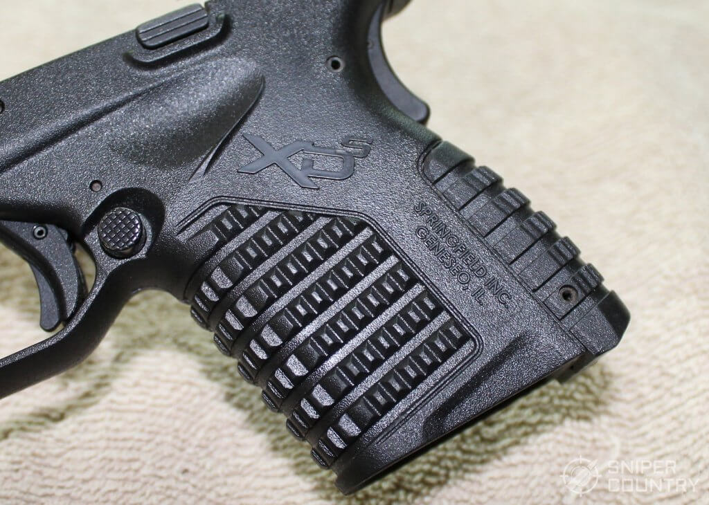 Springfield XDS 4.0 grip texture