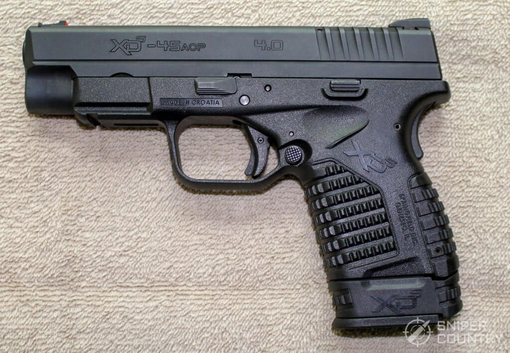 Springfield XDS 4.0 left side