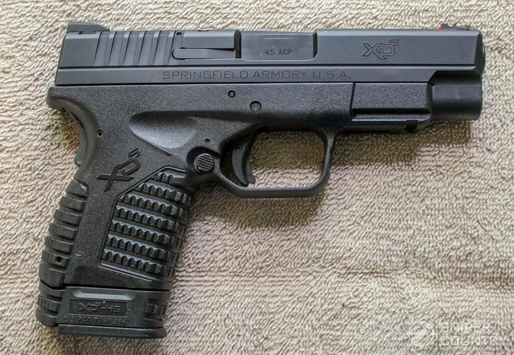 Springfield XDS 4.0 right side