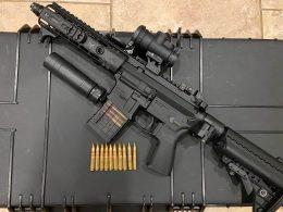 .300 Blackout rifle