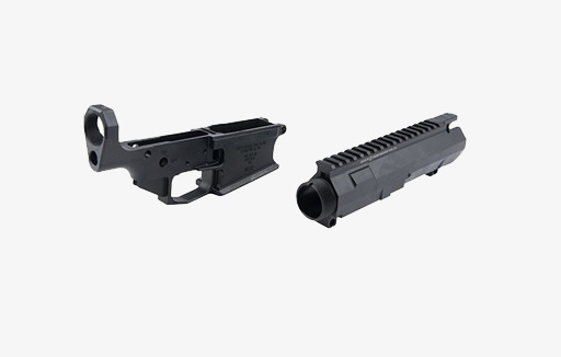 Cross Machine Tool Co .308 AR Stripped Billet Upper and Lower Receiver Set