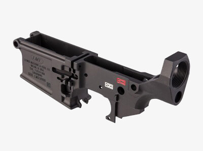 Lewis Machine & Tool AR MWS Stripped Lower Receiver front