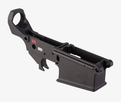 Lewis Machine & Tool AR MWS Stripped Lower Receiver