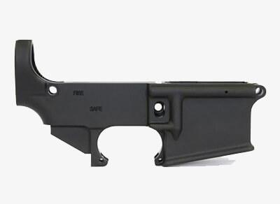 Matrix Arms AR-15 80% Lower Receiver side