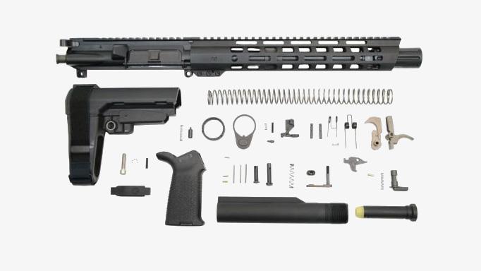 """PSA 10.5"""" .300 Blackout Complete Upper Receiver Kit"""