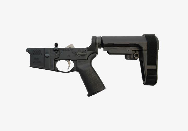 PSA AR-15 Complete MOE SBA3 Lower Receiver