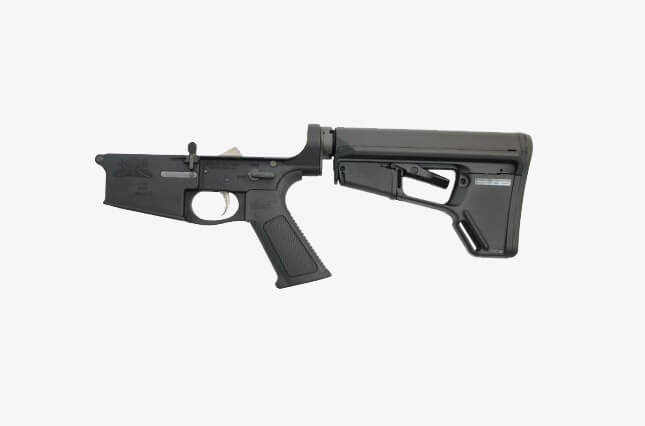 PSA Gen2 PA10 Forged Complete ACS-L EPT Lower Receiver