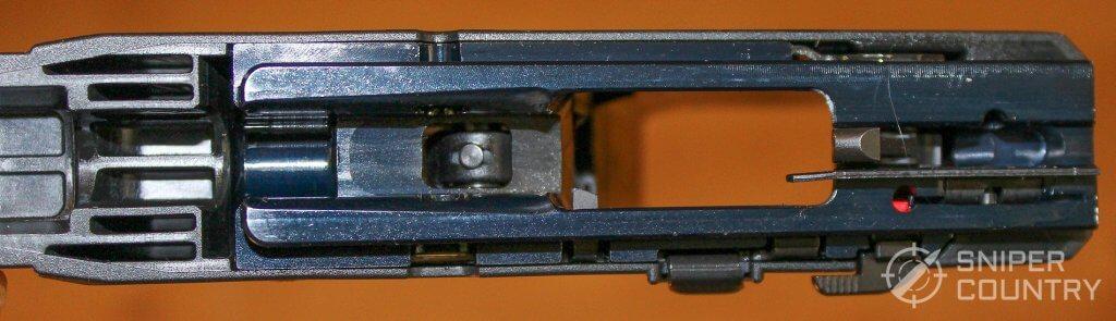 Ruger Security-9 frame inside