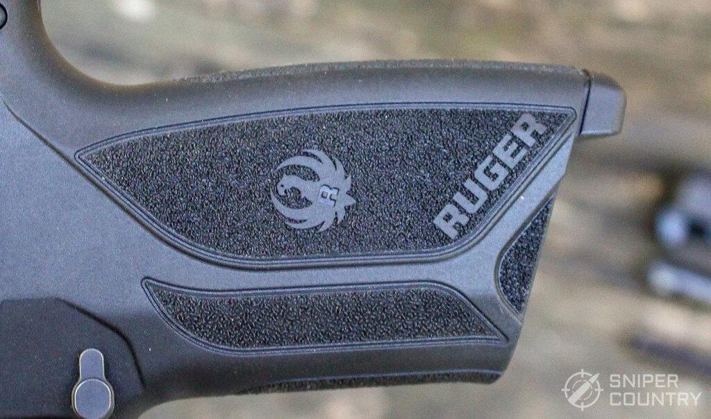 Ruger Security-9 grip left