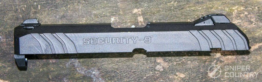 Ruger Security-9 slide left