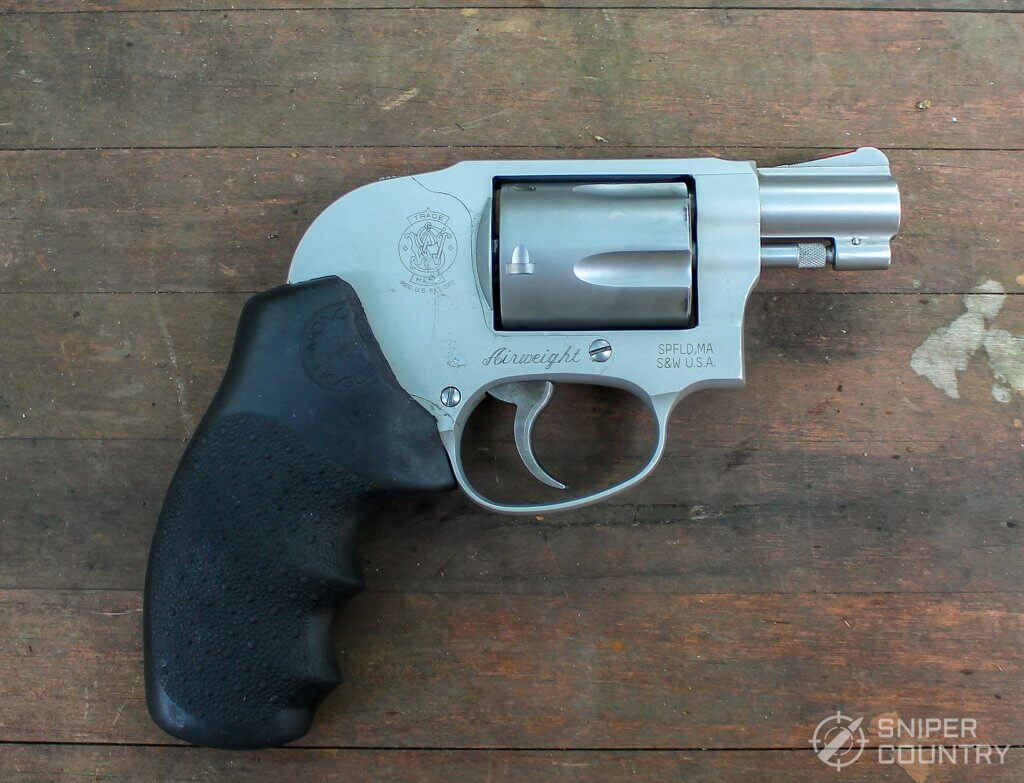 Smith and Wesson 638 Airweight profile right