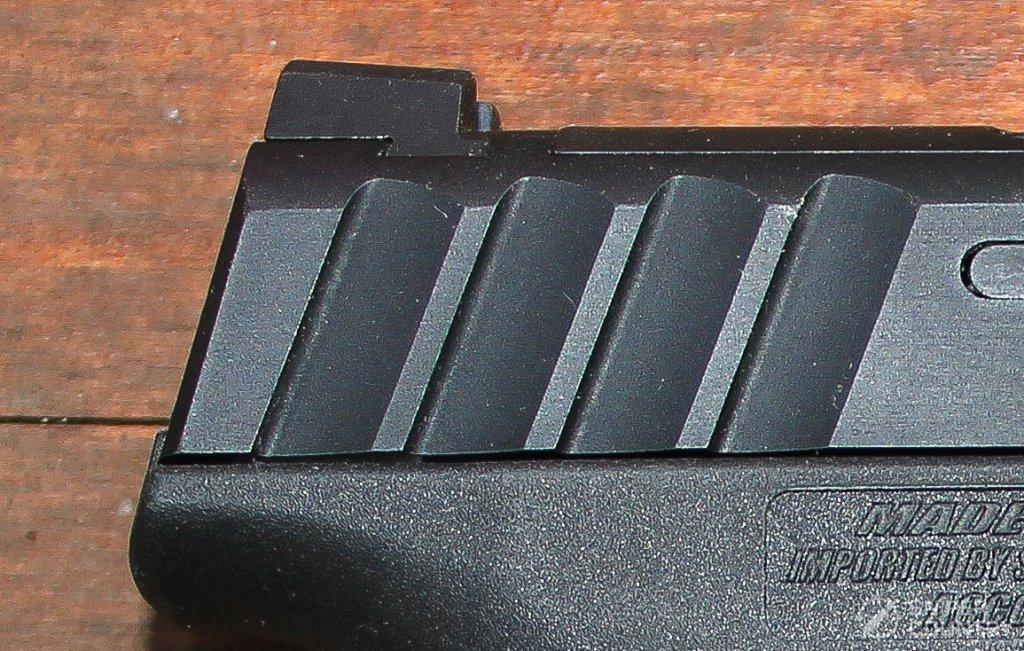 Stoeger STR-9 rear sight ledge