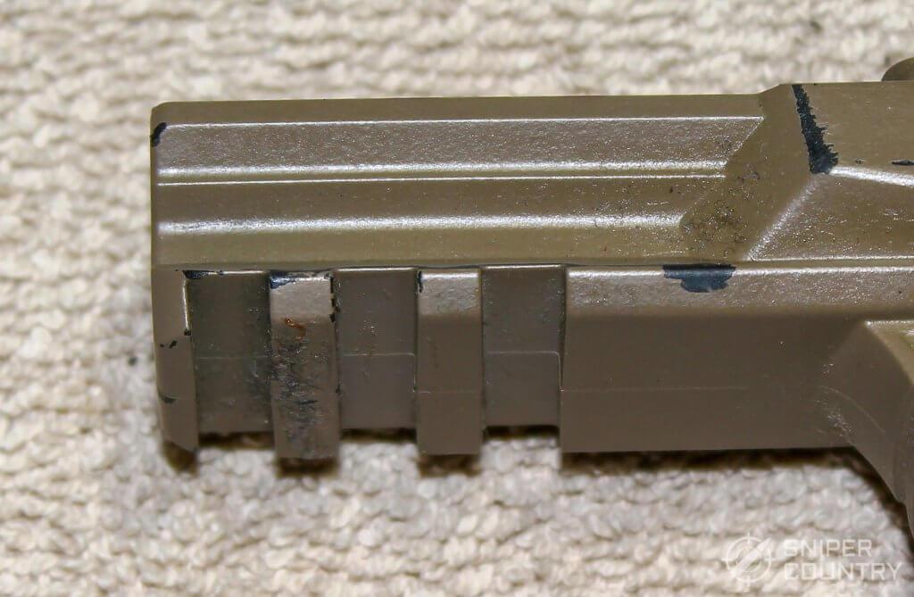 Walther PPQ M2 rail