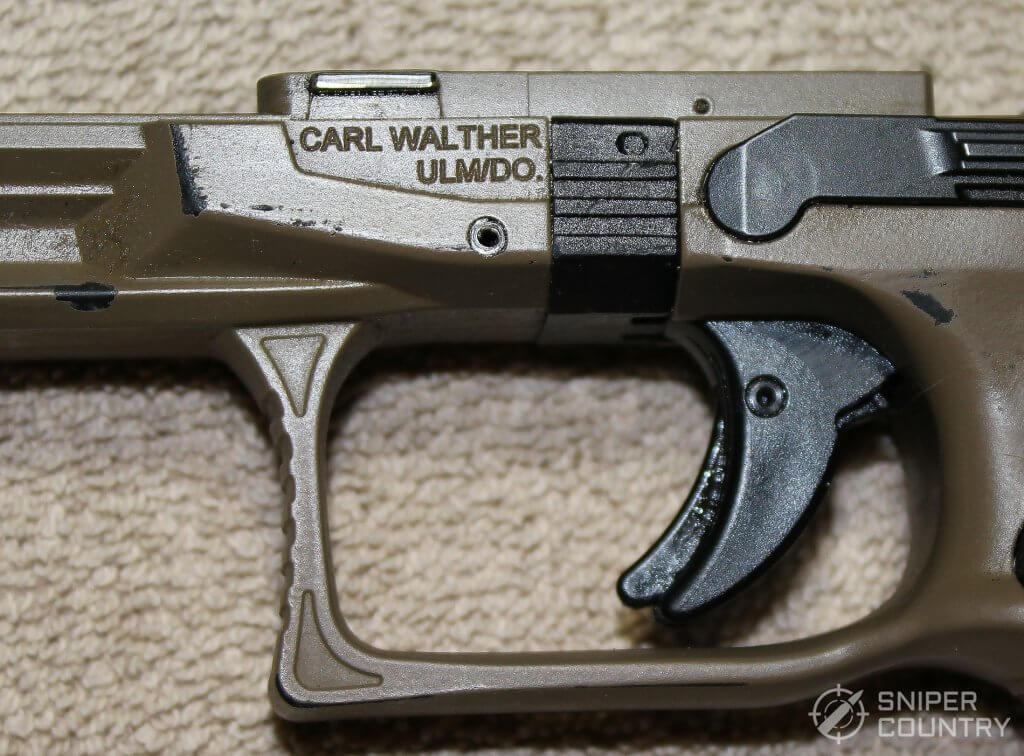 brand on frame of the Walther PPQ M2
