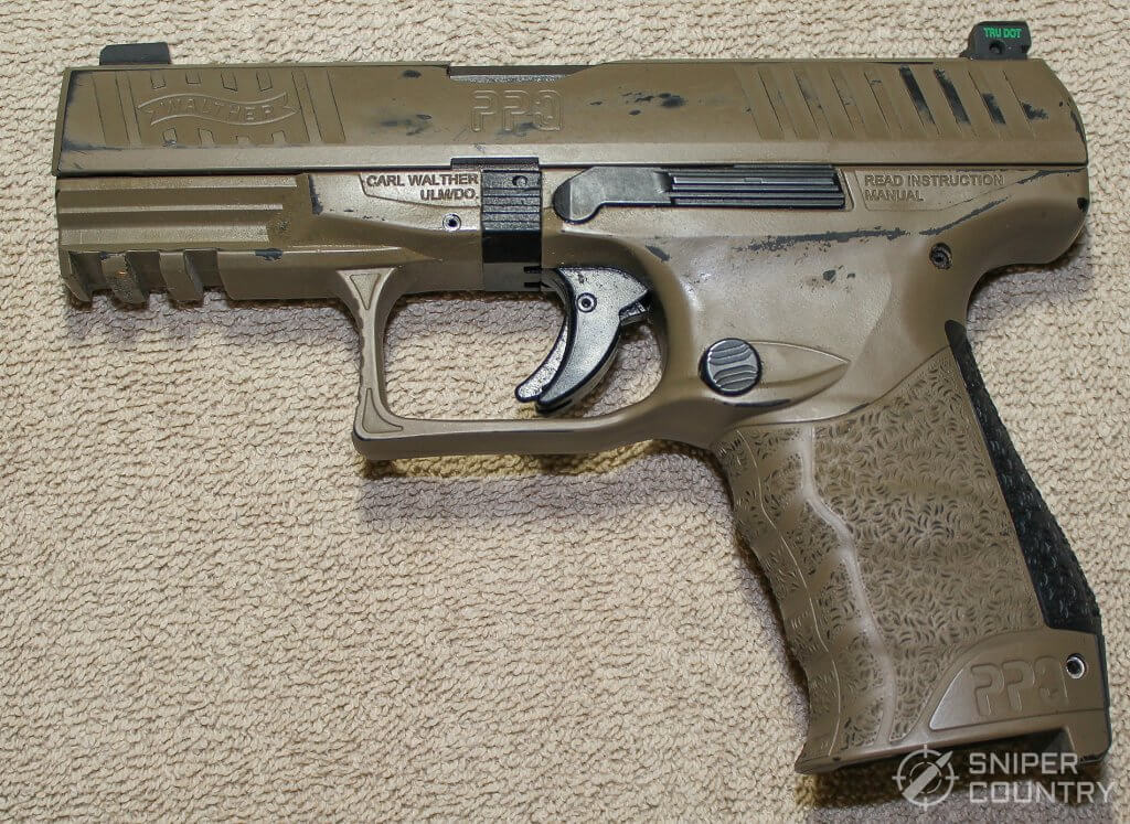 left side of the Walther PPQ M2