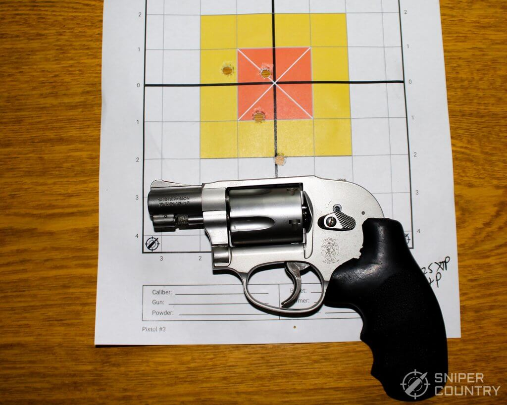 target 125 shot with 638