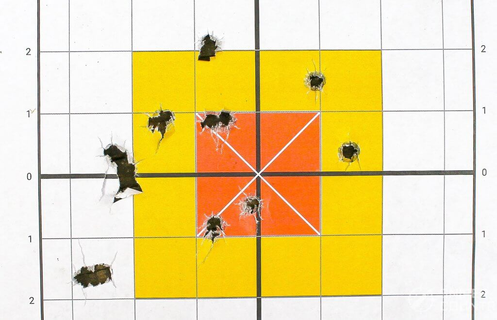 target shot with handload by security-9