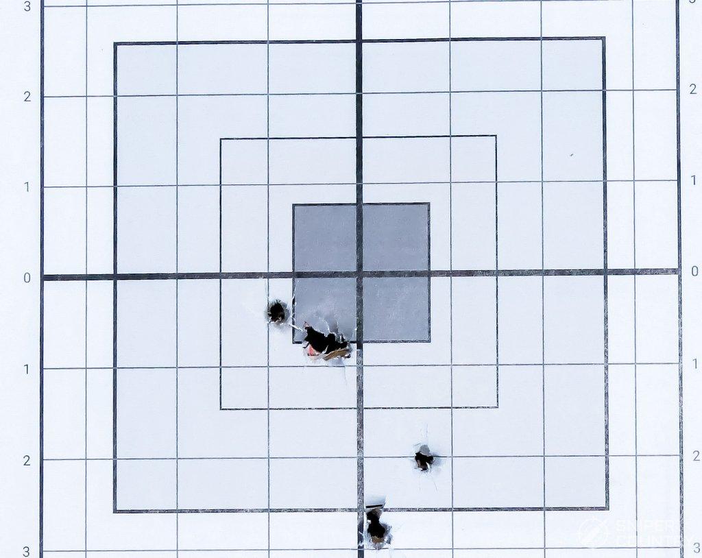 target shot with tula